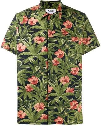 A.P.C. floral print shirt