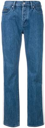 Calvin Klein Jeans high rise tapered jeans