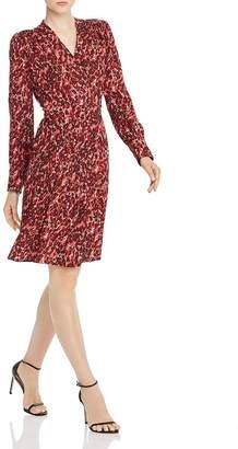 Equipment Jenesse Leopard-Print Wrap Dress