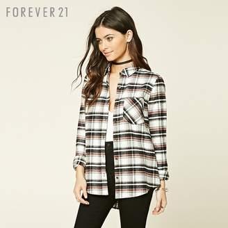 Forever 21 (フォーエバー 21) - Forever 21 フランネルチェックシャツ