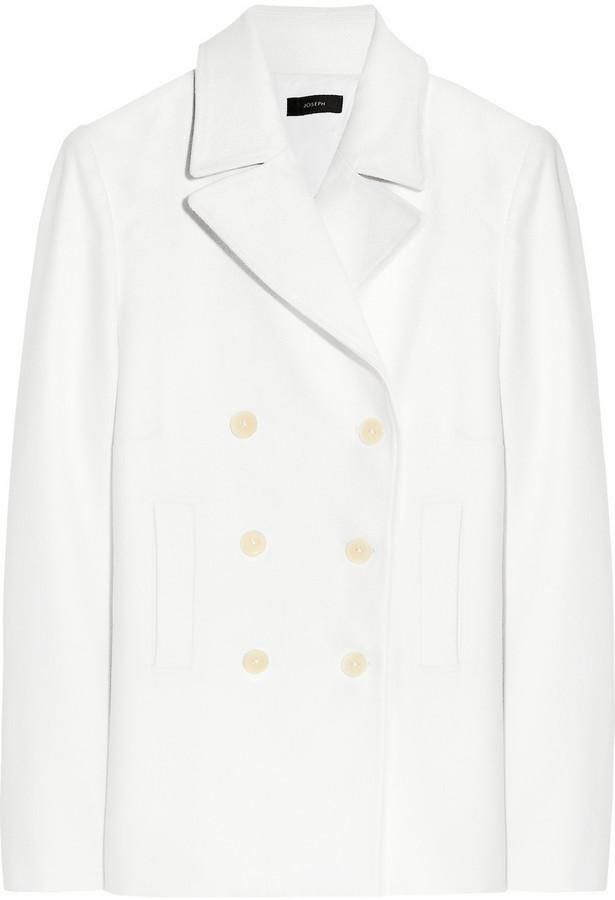 Joseph Woven cotton coat