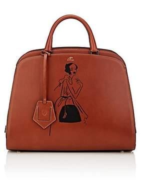 Aspinal of London GILES X Women's Hepburn Large Leather Satchel - Tan