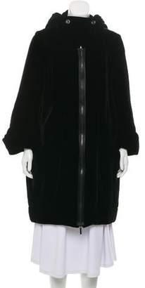 Rue Du Mail Velvet Opera Coat