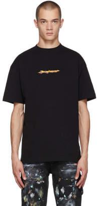 Palm Angels Black Arrows Logo T-Shirt