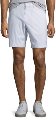 Original Penguin Men's Micro-Stripe Stretch-Cotton Shorts