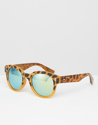 AJ Morgan Round Ombre Mirror Sunglasses $19.50 thestylecure.com