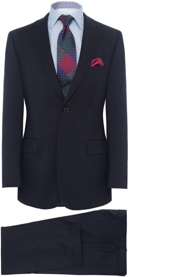 BOSS Hugo Boss Pasini 2/Movie 2 Two Piece Suit