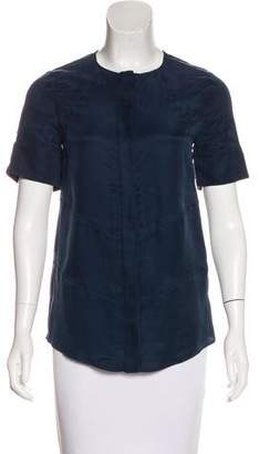 Altuzarra textured Button-Up Top