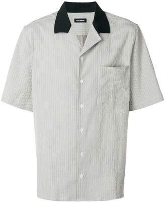 Raf Simons Short Sleeved Seersucker Shirt