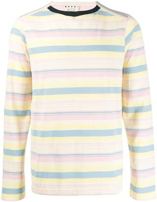 Marni striped sweatshirt
