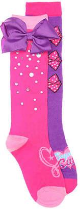 Jo-Jo High Point Design Jojo Siwa Toddler & Youth Knee Socks - 2 Pack - Girl's