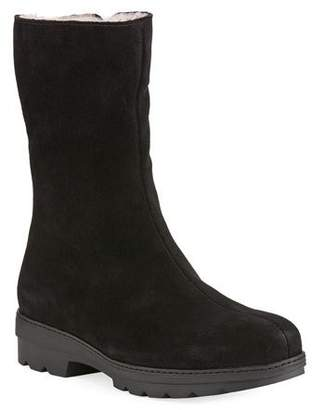 La Canadienne Vogue Waterproof Suede Mid-Calf Boots