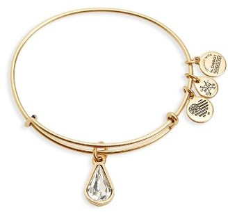 Women's Alex And Ani Birthstone Expandable Wire Bangle With Swarovski Crystal $32 thestylecure.com