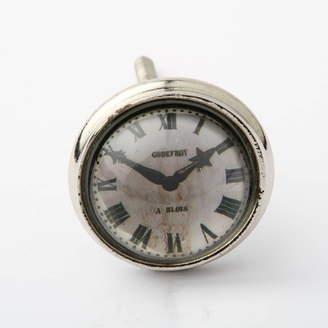 French Grey Interiors Antique Clock Drawer Knob