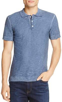 7 For All Mankind Lightweight Slim Fit Polo Sweater $129 thestylecure.com