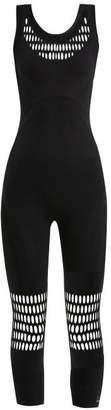 adidas by Stella McCartney Warpknit Seamless Unitard - Womens - Black