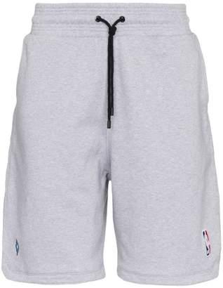 Marcelo Burlon County of Milan NBA cotton shorts
