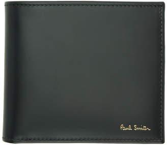 Paul Smith Black Multi Stripe Wallet