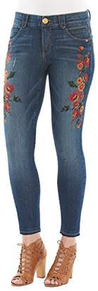 Democracy Women's ab Solution Jegging with Release Hem