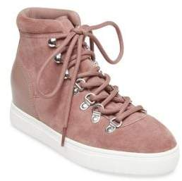 Steve Madden Steven by Kalea Suede High-Top Sneakers