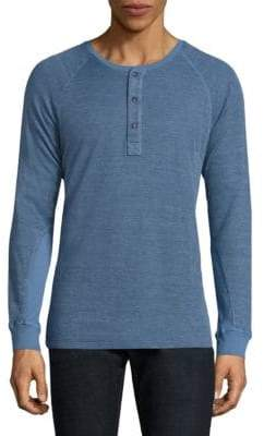 Splendid Mills Textured Cotton Blend Henley