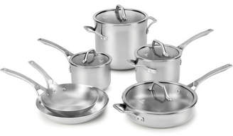 Calphalon Signature Stainless Steel 10 Piece Cookware Set