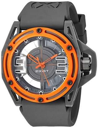 2xist 2(X) IST Men's 2X1-007 NYC Analog Display Analog Quartz Grey Watch
