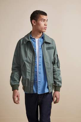 French Connenction Flight Nylon Bomber Jacket
