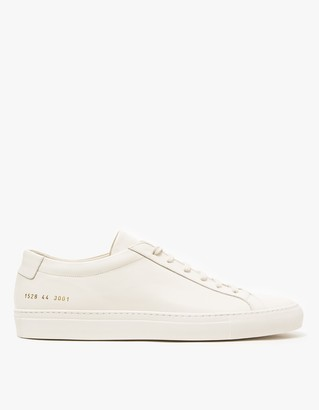Original Achilles Low in Warm White $411 thestylecure.com