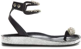 Isabel Marant Ecly crystal-embellished sandals