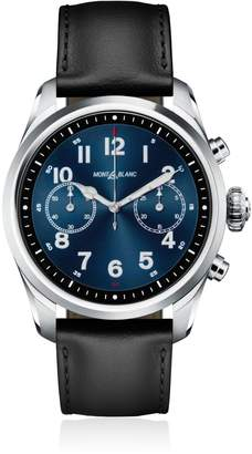 Montblanc Summit 2 Steel & Leather Smart Watch