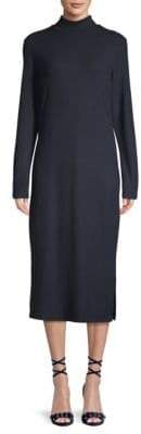 James Perse Turtleneck Midi Dress