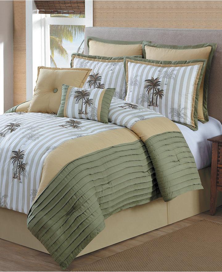 Santa Ana 8-Piece Full Comforter Set