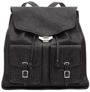 Rag & Bone Field Leather Flap Backpack
