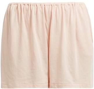Skin - Kirby Organic Cotton Pyjama Shorts - Womens - Light Pink