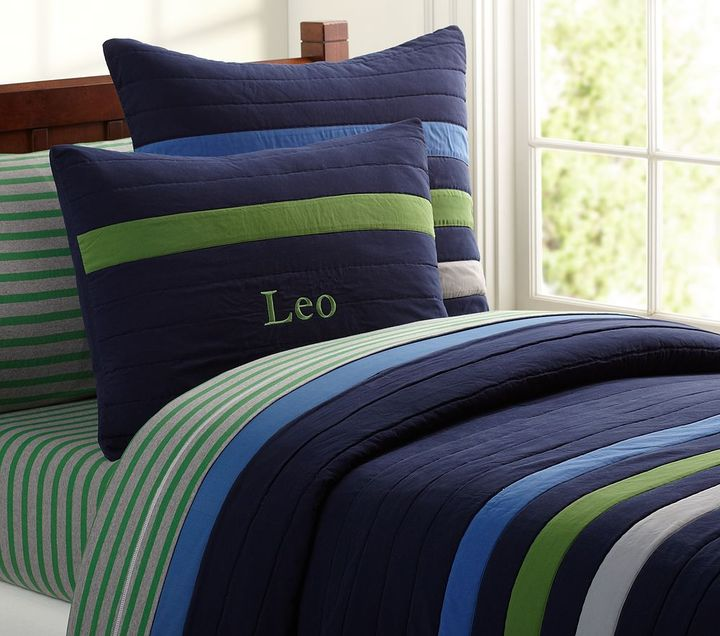 Pottery Barn Kids Leo Quilted Bedding