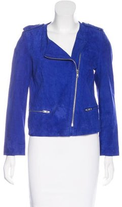 Sandro Leather Moto Jacket $295 thestylecure.com