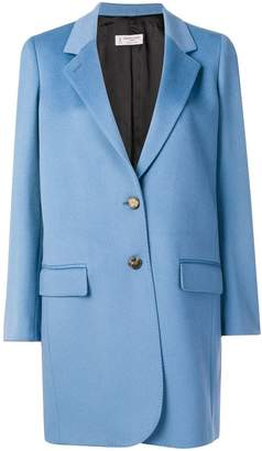 Alberto Biani single breasted mid coat