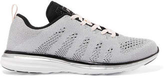 APL Athletic Propulsion Labs Techloom Pro Mesh Sneakers - Silver