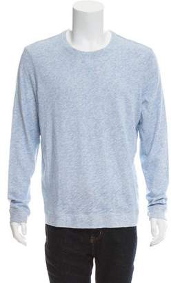 Vince Long Sleeve Knit Sweatshirt