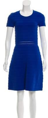 MICHAEL Michael Kors Ribbed Knee-Length Dress