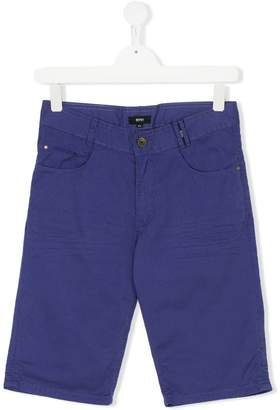 Boss Kids Teen casual chino shorts
