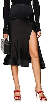 Esteban Cortazar Women's Flounce-Hem Midi-Skirt