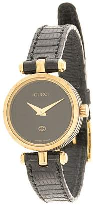 Gucci Pre-Owned round face quartz watch