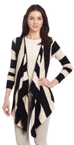 525 America Women's Stripe Flyaway Cardigan