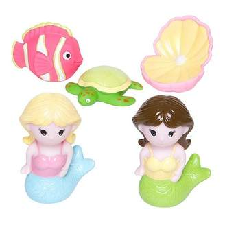 Elegant Baby Mermaid Party Bath Squirties
