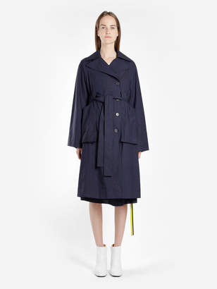 Aalto WOMEN'S NAVY BLUE TRENCH COAT