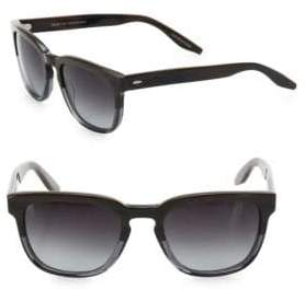 Barton Perreira Men's Coltrane Mudsli 54MM Square Sunglasses - Mudslide