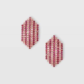 Club Monaco Crystal Stripe Earring