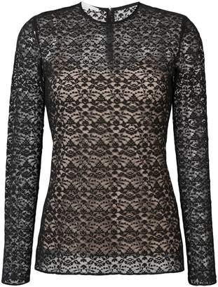 Stella McCartney lace overlay blouse